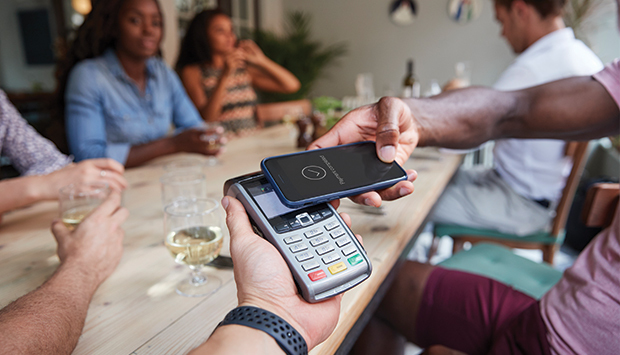 The contactless payment in our daily lives